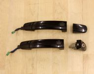 FORD FOCUS MK3 PANTHER BLACK FRONT KEYLESS DOOR HANDLES 1775832 2008 - 2011